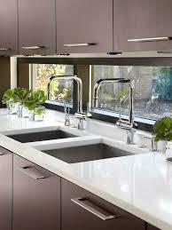 kitchen window backsplash custom touches for small kitchens kitchen small light