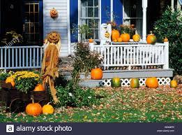 halloween decorations millerton dutchess county new york state usa