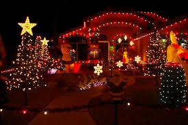 christmas lights on house wallpaper