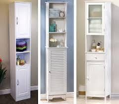 Thin Bathroom Cabinet by Tall Narrow Bathroom Storage Cabinet U2013 Home Improvement 2017