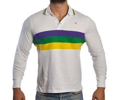mardi gras polo shirt mardi gras sleeve polo shirt woven stripes poree s embroidery