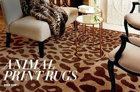 Leopard Print Runner Rug Animal Print Area Rugs Shop Animal Print Rugs Animal Print Area