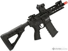 command arms airsoft caa m4 cqb airsoft aeg rifle color black