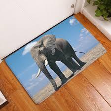 Elephant Outdoor Rug 2017 Modern Elephant Painting 40x60 50x80 Carpets Anti Slip