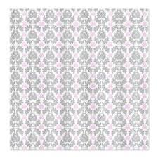 Gray And Pink Curtains Pink Grey Shower Curtain Home Design Plan