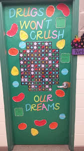 99 best ribbon week door decorating images on