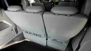 2009 volkswagen routan sel disappearing third row magic seat at
