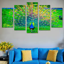compare prices on peacock abstract painting online shopping buy