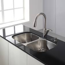 sinks faucets choosing right modern stylish stainless steel pull