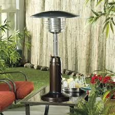 patio table with heater patio ideas garden treasures outdoor patio heater with table az