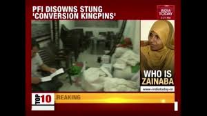 pfi disowns activists exposed by india today sting on conversion