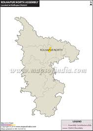 Gujarat Map Blank by Kolhapur North Assembly Vidhan Sabha Constituency Map And