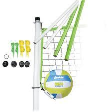 franklin sports intermediate volleyball set walmart com