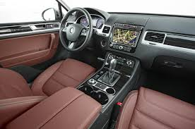 volkswagen california interior 2015 volkswagen touareg tdi first test motor trend