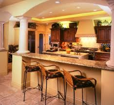 kitchen room design trend cherry finish kitchen cabinet for new