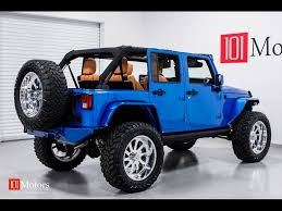 jeep wrangler blue 2015 jeep wrangler unlimited sport for sale in tempe az stock