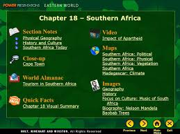 nelson mandela biography quick facts chapter 18 southern africa section notes physical geography
