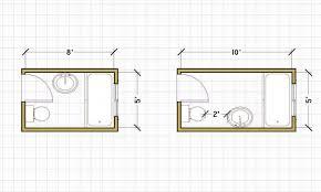 His And Her Bathroom Floor Plans Flooring Small Bath Floor Plans Trend Fancy His And Her Bathroom
