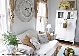 Country Style Decorating In The Family Room Town  Country Living - Country family rooms