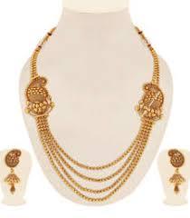 Buy Alankruthi Pearl Necklace Set Necklace Sets Online Online Shopping For Necklaces Designs
