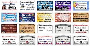 graduation sign graduation signs and banners
