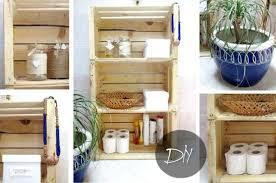 armadietto da bagno armadietto per il bagno con il riciclo il tutorial con le