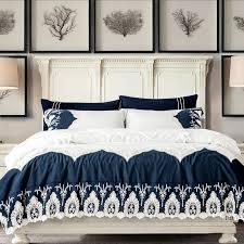 Queen Duvet Cover Sets Blue Bedding