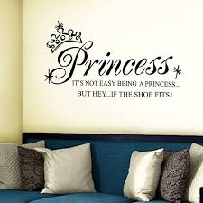princess wall stickers quotes room wall decals ireland