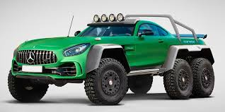 mercedes 6x6 truck this monstrous mercedes makes 6x6 concept trucks an official trend