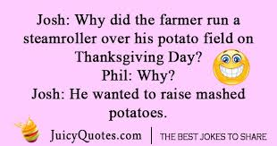thanksgiving jokes and puns will make you laugh