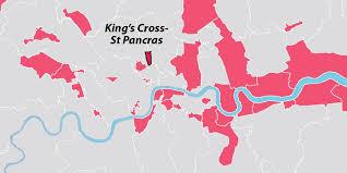 St Pancras Floor Plan Kings Cross St Pancras Opportunity Area London City Hall