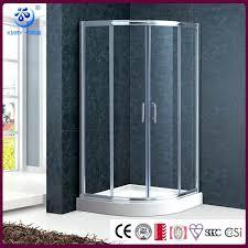 E Shower Door Curved Shower Doors Curved Corner Shower W Single Sliding Door
