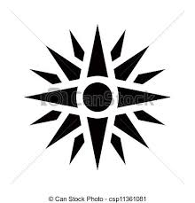 sun of vergina graphical representation of an ancient