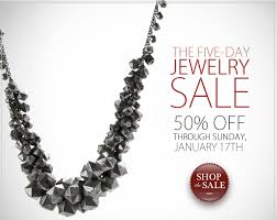 five day jewelry sale 50 through the weekend at loris shoes