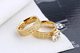 gold wedding rings designs beautiful 18k solid gold plated finger ring wholesale fancy