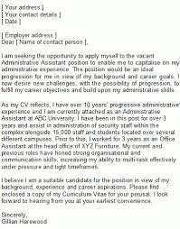 sample cover letter for office assistant counter attendant cover