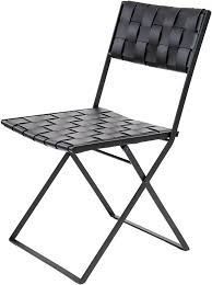 Dining Folding Chairs Lina Leather Folding Dining Chair Leather Chairs In Many Colors