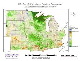 Kansas State Campus Map by K State Agronomy Eupdate Issue 508 May 1st 2015 Comparative