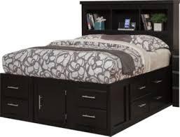 Bookcase Storage Beds Sandberg Furniture Serenity Queen Bookcase Storage Bed