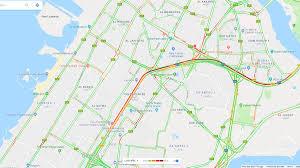 Google Maps Traffic Sheikh Zayed Road At Standstill After Multi Vehicle Smash In Dubai