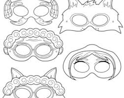 drawn masks hero mask pencil color drawn masks hero mask