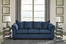 Living Room Blue Sofa by Ashley Darcy Blue Sofa And Love Dream Rooms Furniture