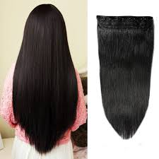 Best Clip In Hair Extensions For Thick Hair by 100 Remy Clip In Human Hair Extensions 16 22inch Natural Hair