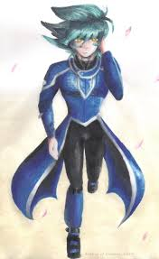 hell johan andersen in obelisk blue uniform design by zephyr of