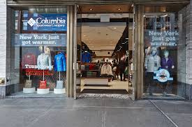 columbia sportswear opens brand store in new york city