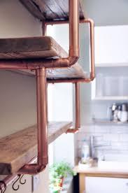 wandregal pipe medium 3 shelf stepped design 28mm copper pipe unit my home