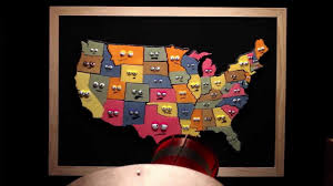 Map Of The United States Capitals by States And Capitals Song By Musical Stew Youtube