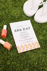 free printable spa party invitation by sparadise mobile spa spa