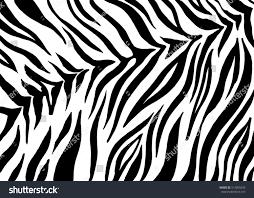 zebra stripes animal skin tiger print stock vector 514855639
