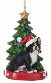 bulldog tree ornament